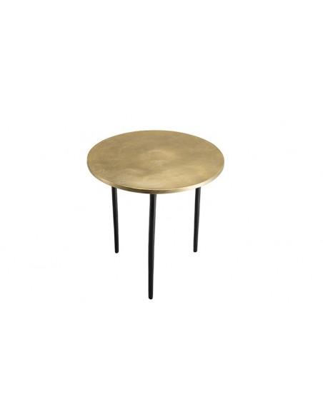 table d'appoint dorée