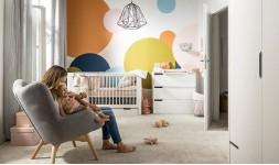 Pack chambre bébé design blanc