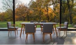 Salon de jardin en acacia
