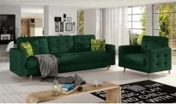 Set canapé convertible et fauteuil