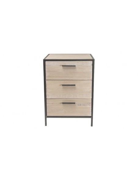 Chevet 3 tiroirs design