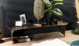 table basse orientale dorée
