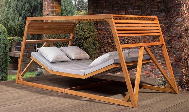 hamac en bois 2 personnes haut de gamme fallea. Black Bedroom Furniture Sets. Home Design Ideas