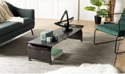 table basse orientale noire