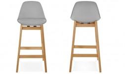 Chaise haute nordique bois