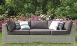 Sofa design de jardin 3 places