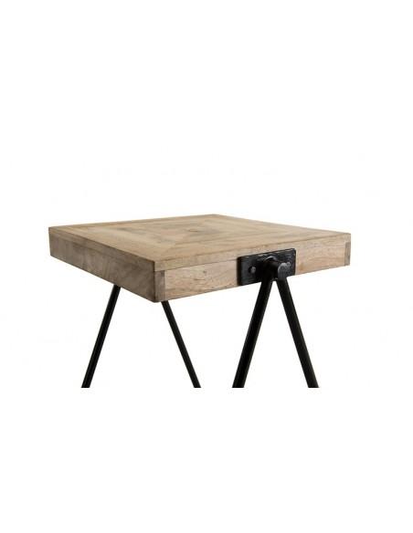 table d'appoint en manguier