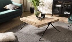 Table basse carrée en manguier