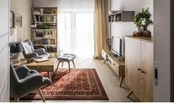 Meuble tv vintage en bois