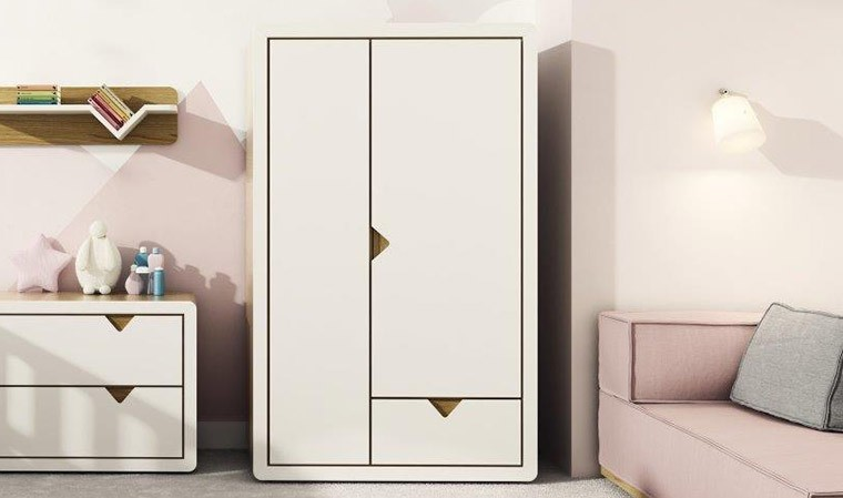 armoire design pour chambre b b et enfant avec penderie. Black Bedroom Furniture Sets. Home Design Ideas