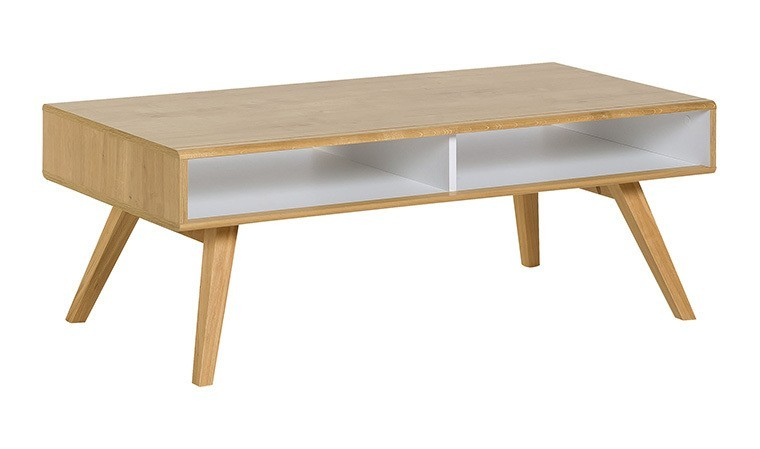 table basse design scandinave avec tiroirs nature vox. Black Bedroom Furniture Sets. Home Design Ideas