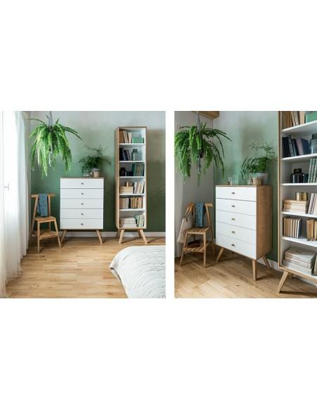valet de chambre design en bois