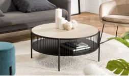 Table basse moderne ronde