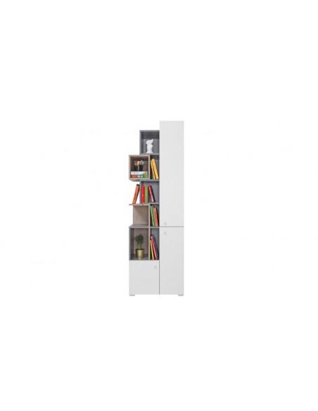 Bibliothèque enfant asymétrique