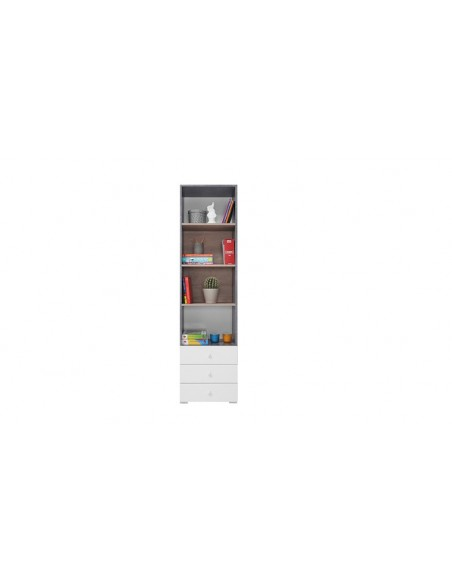 Bibliothèque enfant avec tiroirs