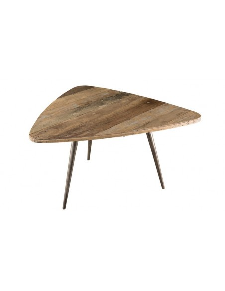 table basse ovoide