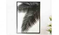 Déco murale exotique feuille de palmier
