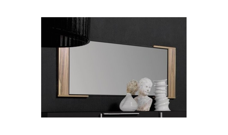 miroir mural chambre coucher adulte black 115 cm. Black Bedroom Furniture Sets. Home Design Ideas