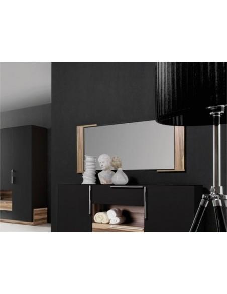Miroir design pour chambre adulte BLACK