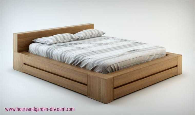 lit gain de place en bois massif avec sommier relevable sur pistons. Black Bedroom Furniture Sets. Home Design Ideas