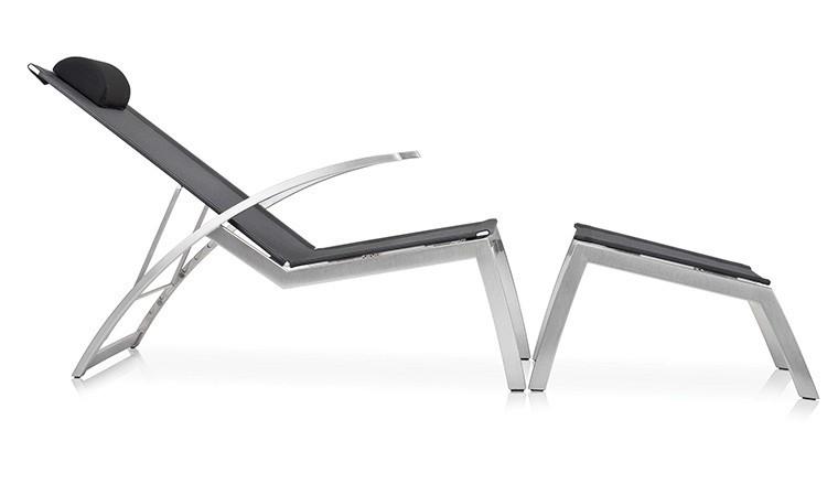 fauteuil de jardin relax haut de gamme avec repose pieds alcedo 3mp. Black Bedroom Furniture Sets. Home Design Ideas