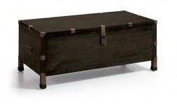 Coffre industriel en bois