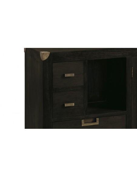 Console bois massif exotique Loft