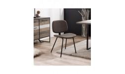 chaise moderne marron