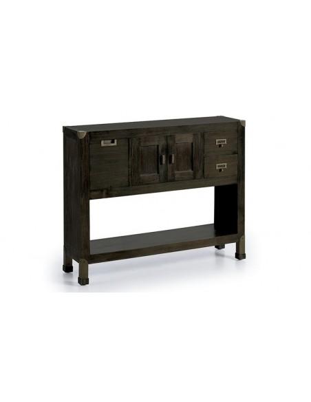 Console design bois massif
