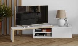 Meuble tv blanc extensible
