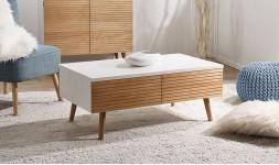 Table basse 4 tiroirs