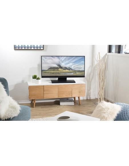Meuble TV 4 portes