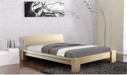 lit en bois massif adulte