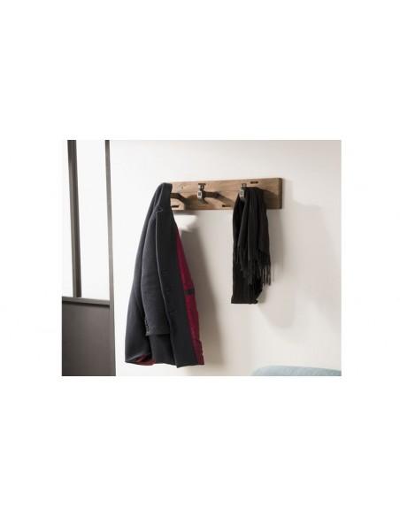 porte manteau à suspendre en teck