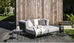 Canapé lit de jardin haut de gamme