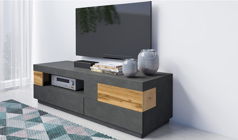 Petit meuble tv scandinave