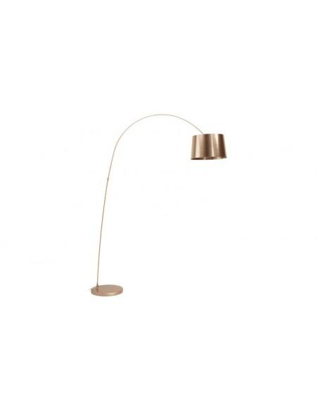 lampadaire design cuivre