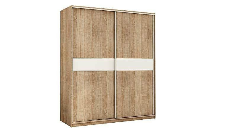 armoire dressing 2 portes coulissantes contemporaines pas cher. Black Bedroom Furniture Sets. Home Design Ideas