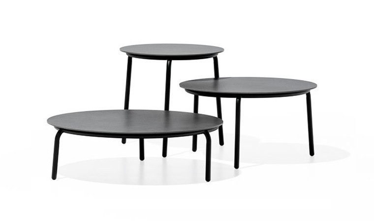 Table basse de jardin ronde haut de gamme - Starling