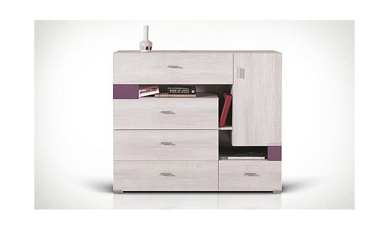 commode chambre enfant en bois rangement pour chambre ados. Black Bedroom Furniture Sets. Home Design Ideas