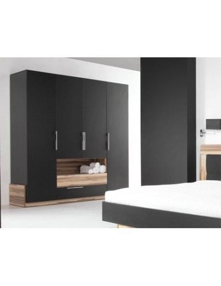 Armoire dressing noire