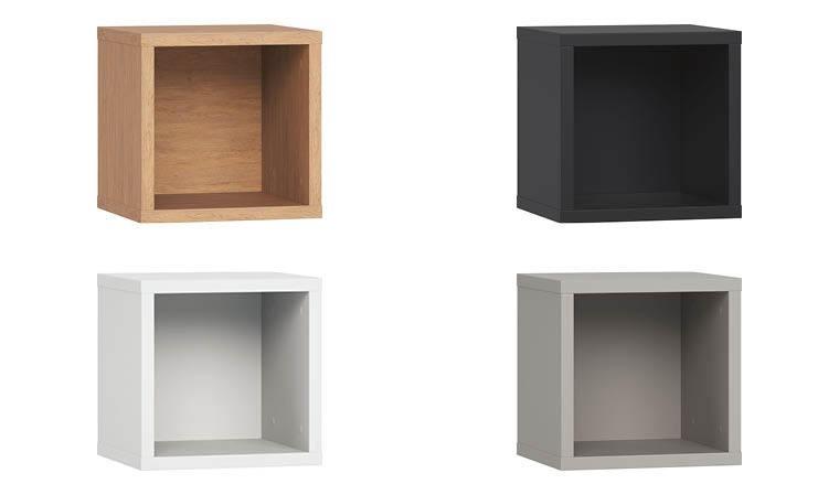 cube murale de rangement en bois tag re murale design. Black Bedroom Furniture Sets. Home Design Ideas