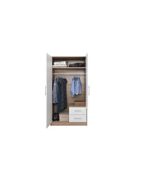 Armoire contemporaine 2 portes