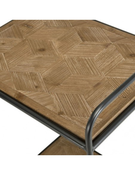 Table d'appoint sapin