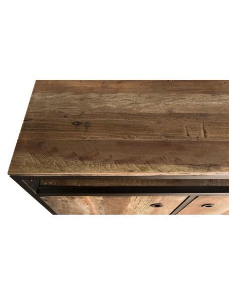 Buffet en bois recyclé