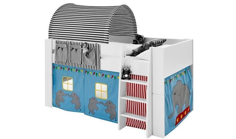 tente pour lit enfant cirque transformer en cabane le lit enfant. Black Bedroom Furniture Sets. Home Design Ideas