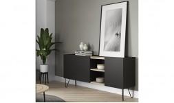 Buffet design noir