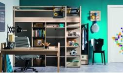 Bureau plan de travail design en bois