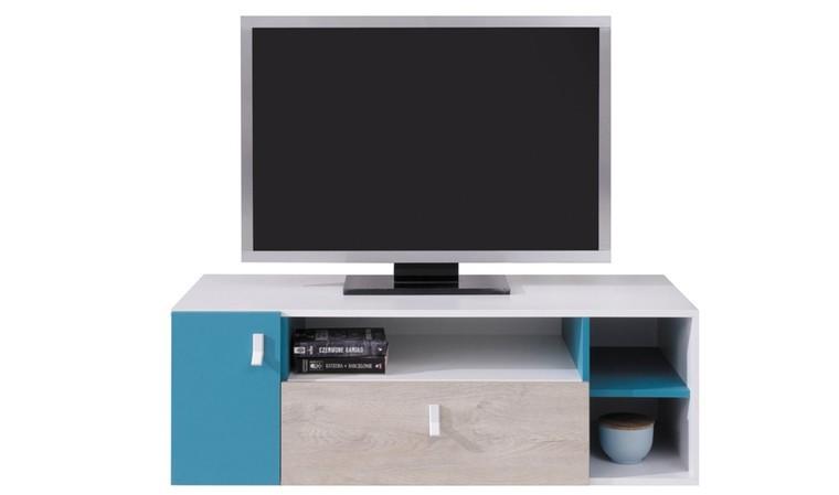 Meuble tv ado bleu
