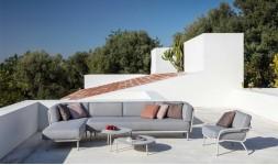 Salon de jardin bas design luxe